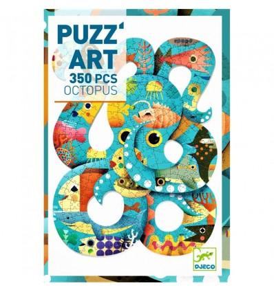 Puzzle artystyczne OŚMIORNICA 350 el. Djeco