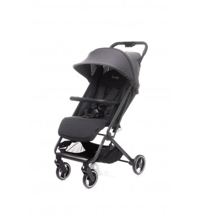 Wózek spacerowy 4BABY Twizzy Dark Grey