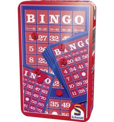 BINGO gra podróżna w puszce Schmidt Spiele