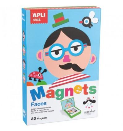 Magnetyczna układanka Twarze - Buzie Apli Kids