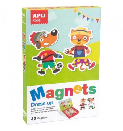 Postaci Zawody magnetyczna układanka Apli Kids