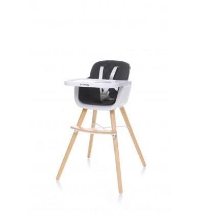 Krzesełko do karmienia Scandy Black