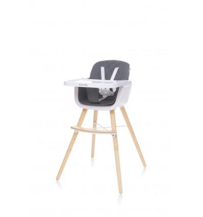 Krzesełko do karmienia Scandy Dark Grey