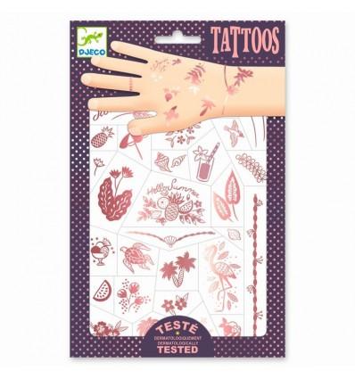 Tatuaże metaliczne LATO I WAKACJE Djeco