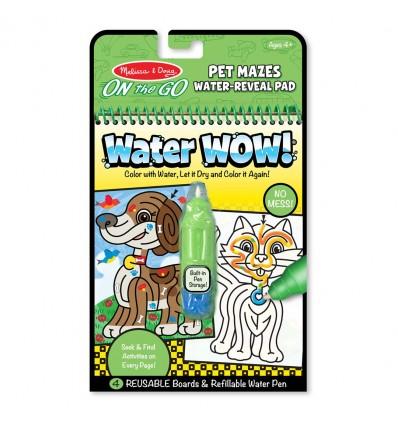 Kolorowanka wodna Water Wow! Labirynty