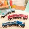Pociąg lokomotywa + wagonik pomarańczowy B.Toys