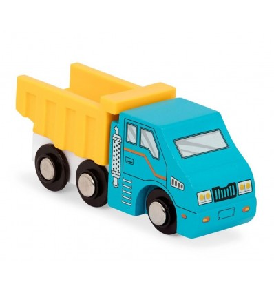 Wywrotka drewniany pojazd Wood & Wheels B.Toys