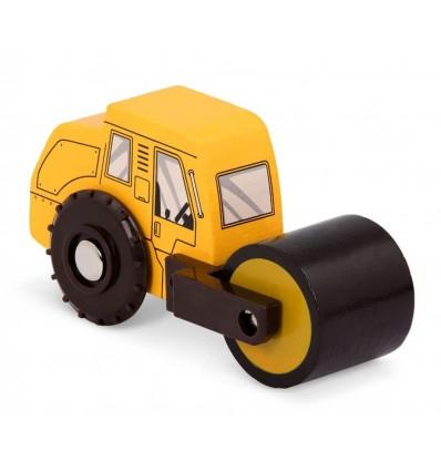 Walec drewniany pojazd Wood & Wheels B.Toys