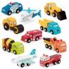 Koparka drewniany pojazd Wood & Wheels B.Toys