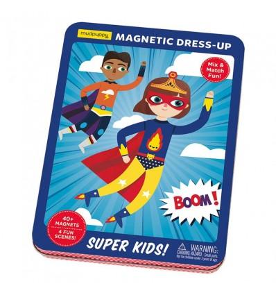 Układanka magnetyczna Super Dzieciaki Mudpuppy 4+