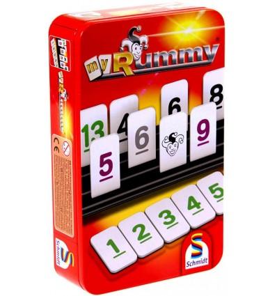 RUMMY gra podróżna w puszce Schmidt Spiele