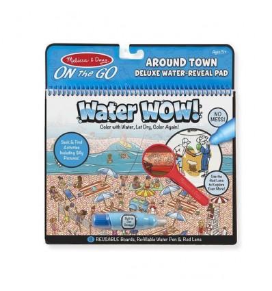 Kolorowanka wodna Water Wow Miasto i Ludzie Deluxe