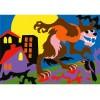 Potwory Album do kolorowania piaskiem Sabbiarelli