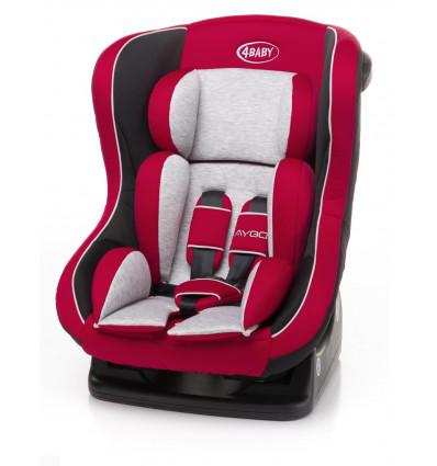 Fotelik samochodowy AYGO 0-18 kg 4BABY Czerwień
