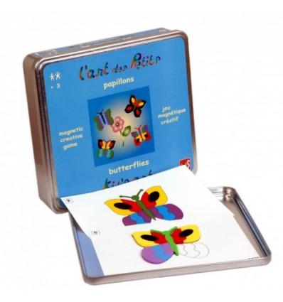Mozaika Magnetyczna IOTOBO Motylki 4 +