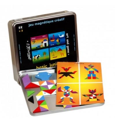 Mozaika Magnetyczna IOTOBO Basic Junior 4 +