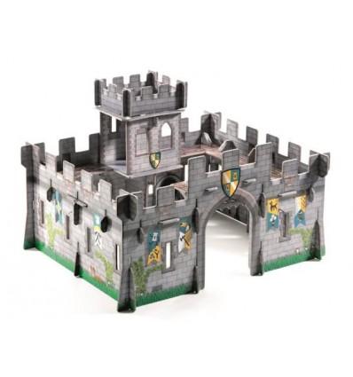 Układanka przestrzenna 3D Zamek Warowny