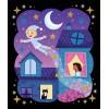 Zestaw kreatywny Magiczna Noc brokat Janod 5+