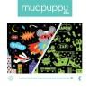Puzzle świecące Superbohaterowie 100 el. Mudpuppy
