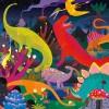 Puzzle świecące Dinozaury 500 el. Mudpuppy 8+
