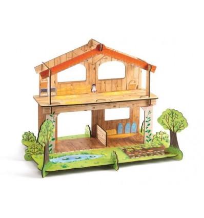 Układanka przestrzenna 3D Farma