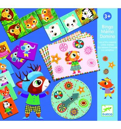Gry edukacyjne Bingo-Memo-Domino