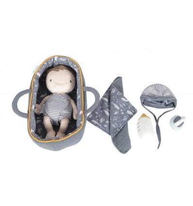 Baby Jim niemowlak w nosidlełku Little Dutch 1+
