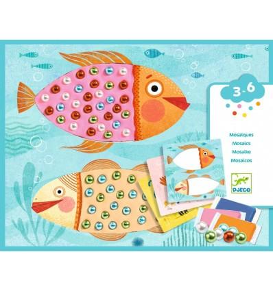 Mozaika z koralików zestaw artystyczny DJECO