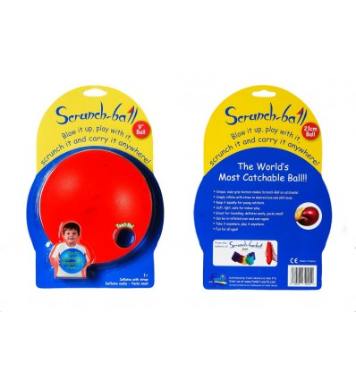 Piłka Czerwona Scrunch Ball