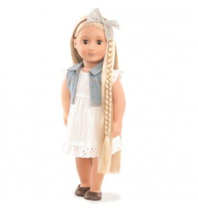 Lalka Phoebe włosy blond do stylizacji 46 cm Our Generation