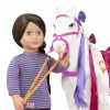Biały Koń Camarillo z grzywą do stylizacji i czesania 50 cm Our Generation