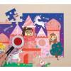Puzzle ukryte obrazki Zamek Jednorożca Mudpuppy