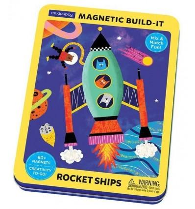 Układanka magnetyczna Rakiety Kosmiczne Mudpuppy