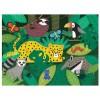 Puzzle dotykowe miękkie elementy Dżungla Mudpuppy