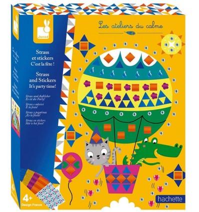 Zestaw kreatywny Fiesta Kryształki Naklejki JANOD