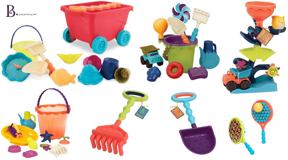 Zabawki na plażę i do ogrodu do piasku i wody